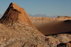 Piękna Atacama pustynia w Chile zdjęcie royalty free