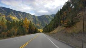 Piękna autostrada Zdjęcie Royalty Free