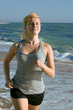 piękna bieg kobieta Fotografia Stock