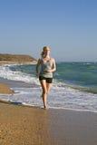 piękna bieg kobieta Zdjęcie Royalty Free