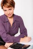 piękna biznesowa kobieta obraz stock