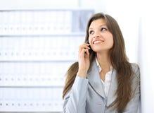 piękna biznesowa target2010_0_ kobieta Obrazy Stock