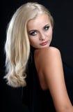 piękna blond kobieta Fotografia Stock