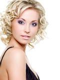 piękna blond kobieta Zdjęcie Stock
