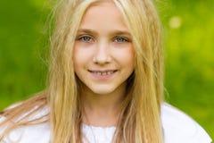 piękna blondynka Zdjęcia Stock