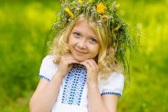 piękna blondynka Fotografia Royalty Free