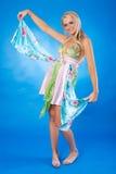 piękna blondynka kobieta Obraz Royalty Free