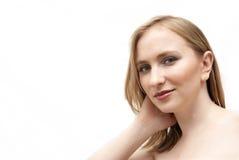 piękna blondynka kobieta zdjęcie royalty free