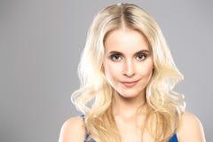 pi?kna blondynka kobieta fotografia stock