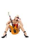 piękna blondynka szpilka do g Fotografia Royalty Free