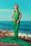 Piękna boginka na morzu Zdjęcie Royalty Free