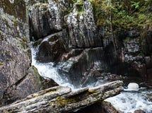 Piękna Braklynn siklawa w Szkocja Fotografia Stock