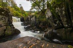 Piękna Braklynn siklawa w Szkocja Obraz Royalty Free