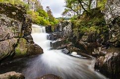 Piękna Braklynn siklawa w Szkocja Fotografia Royalty Free
