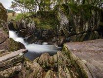 Piękna Braklynn siklawa w Szkocja Zdjęcie Royalty Free