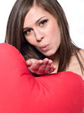 piękna brunetka Zdjęcie Stock