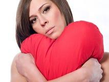 piękna brunetka Zdjęcia Stock