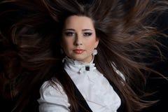 piękna brunetka Obraz Royalty Free