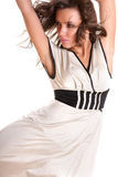 piękna brunetki seksowny Obraz Royalty Free