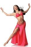 Piękna brzucha tancerza kobieta Zdjęcia Stock