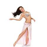 Piękna brzucha tancerza kobieta Zdjęcie Royalty Free