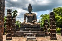 Piękna Buddha statua Sukhothai Zdjęcie Royalty Free