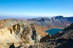 Piękna Changbai góry sceneria Zdjęcie Royalty Free
