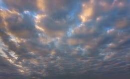 piękna cloudscape fotografia stock