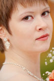 Piękna dama Obraz Royalty Free