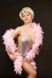 piękna dancingowa target1947_0_ kobieta Obraz Royalty Free