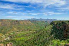 Piękna dolina Agua Fria Krajowy zabytek Fotografia Royalty Free