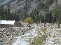 Piękna dolina Kalam obrazy stock