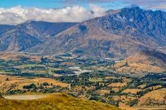 Piękna dolina w Nowa Zelandia fotografia royalty free