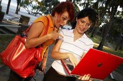 piękna dwie kobiety. Fotografia Stock