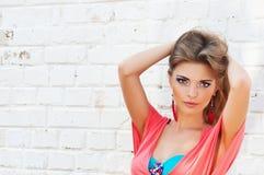 Piękna dziewczyna Fotografia Stock