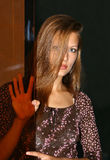 piękna dziewczyna zdjęcie stock