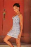 piękna dziewczyna biracial Zdjęcia Royalty Free