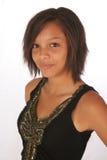 piękna dziewczyna biracial Obraz Royalty Free