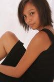 piękna dziewczyna biracial Fotografia Royalty Free