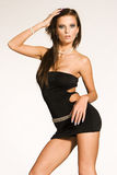 piękna dziewczyna brunetki Fotografia Stock