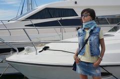 Piękna dziewczyna na wakacjach Fotografia Stock