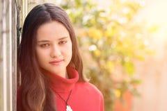 piękna dziewczyna nastoletnia Obraz Royalty Free