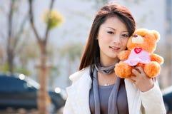 piękna dziewczyna Oriental Fotografia Royalty Free