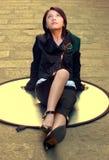 piękna dziewczyna Oriental Zdjęcia Stock