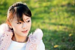 piękna dziewczyna Oriental Fotografia Stock