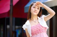 piękna dziewczyna Oriental Obrazy Royalty Free