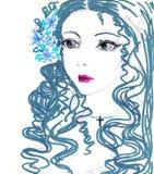 piękna dziewczyna portret Obrazy Stock