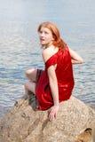 piękna dziewczyna rock Obraz Royalty Free