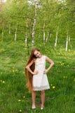 piękna dziewczyna ruda Obrazy Royalty Free