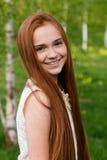 piękna dziewczyna ruda Fotografia Royalty Free